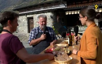 Vin et brisolée, un duo qui fonctionne à merveille: exemple avec Stéphane Carron au Forum des Vigne