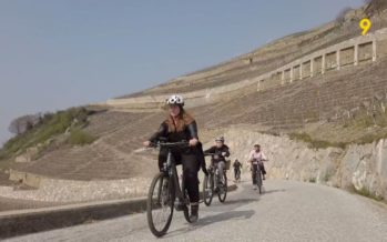 Vin et tourisme: balade à vélo électrique à la découverte du vignoble sédunois
