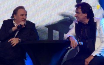 Soirée de gala du FC Sion: Constantin et Depardieu font le show devant 7500 mangeurs de choucroute