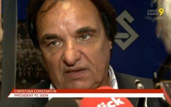 Christian Constantin évince Jacobacci pendant la préparation du match de coupe: «On était plutôt dans la sortie de la fanfare…»