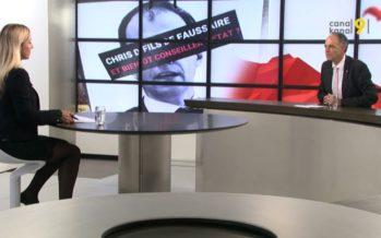 Affiches diffamantes à l'encontre de Christophe Darbellay: «Je suis soulagé»