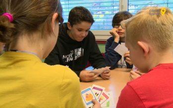 Genial Klick, nouvelle méthode pour enseigner l'allemand: les écoliers de Troistorrents aiment apprendre en jouant
