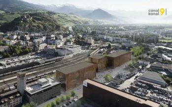 Campus Energypolis: au sud de la gare de Sion se construit le chantier de tous les superlatifs