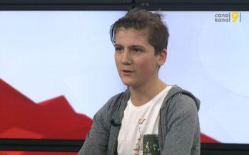 «Je commence à pouvoir discuter en allemand», témoigne Hermès Evéquoz, participant à Walliwood