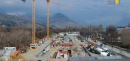 Hôpital du Valais: à Sion, le parking couvert est sous toit. Rencontre avec les architectes