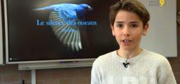 Ornithologie: avec l'énergie de ses 12 ans, le Valaisan Jolan Besson se bat pour éviter le silence des oiseaux