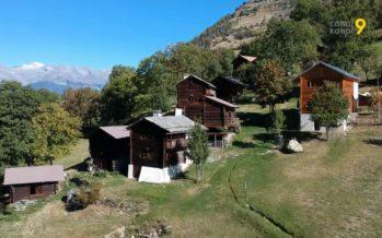 Agritourisme: depuis dix ans, au hameau d'Ossona dans le val d'Hérens, les visiteurs viennent se ressourcer dans un site exceptionnel