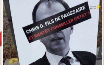 Procès des fausses affiches Darbellay: «J'en suis l'auteur et les ai posées seul», avoue l'ancien président de l'UDC du district de Conthey