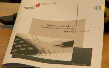 Réforme fiscale et financement de l'AVS (RFFA): le Canton du Valais soutient le projet
