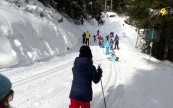 Le ski de fond redevient populaire: à Ovronnaz, les écoliers de Leytron découvrent cet autre plaisir de la glisse