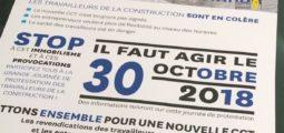 Métiers de la construction: UNIA et les Syndicats Chrétiens du Valais appellent à protester le 30 octobre à Sion