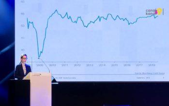 Le CIO et la FIFA ont contribué à booster le taux de croissance de la Suisse en 2018; un moins bon résultat est attendu en 2019