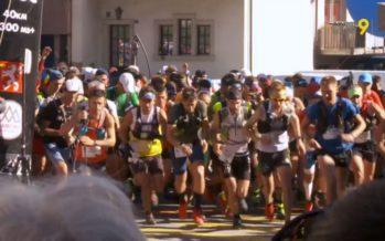 Mille coureurs étaient au départ de l'Ultra-Trail du Mont-Blanc à Martigny-Combe ce lundi matin!