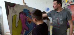 Urban Art Academy à Martigny: ils ont entre 10 et 14 ans et ils apprennent les techniques du Street Art