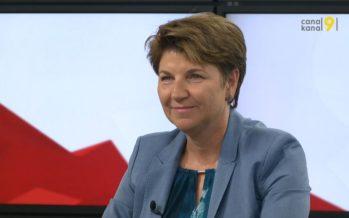 Viola Amherd sera-t-elle candidate à la succession de Doris Leuthard? «Je réfléchis encore…», répond la Haut-Valaisanne