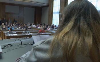 Les écoliers de l'Institut Sainte-Agnès siègent comme des grands au Parlement des enfants