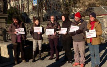 Pétition de la PEA: 6400 signatures pour demander la fermeture des abattoirs à Martigny