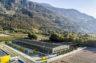 Vétroz: un nouveau centre colis – Hôpital du Valais: le parking est sous toit