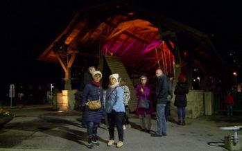 6e Nuits valaisannes des images: le patrimoine de Monthey sous le feu des projecteurs