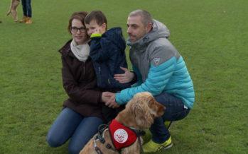 Farah Dogs: des chiens d'assistance essentiels, exemple avec le jeune Tiziano et son compagnon O'Malley