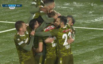 FC Sion: première victoire à l'extérieur avant deux chocs face à Bâle et YB