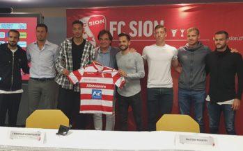 FC Sion: focus sur les recrues du club rouge et blanc