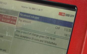 Le prix des transports publics en Suisse