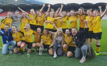 Football-Coupe VS: Victoire des filles du FC Brig-Glis face aux favorites du FC Sion