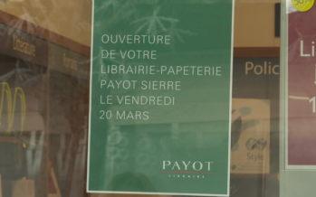 Librairies: Payot écrit un nouveau chapitre à Sierre