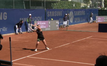 Ylena In-Albon, meilleure tenniswoman valaisanne de tous les temps