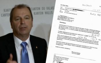 Arrangements fiscaux de Dominique Giroud: Maurice Tornay peut-il encore gouverner?