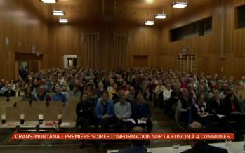 Crans-Montana: première soirée d'information sur la fusion à quatre