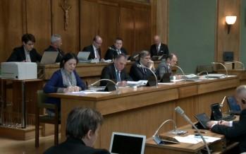 Grand Conseil: résumé des débats du lundi 09.03.2015