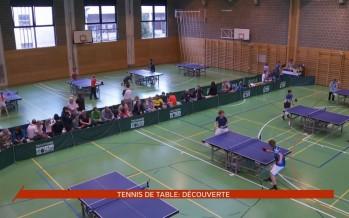 Le tennis de table à l'honneur ce week-end à Martigny