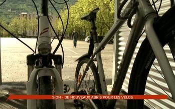 Sion mise sur la mobilité et met à disposition des abris gratuits pour vélos