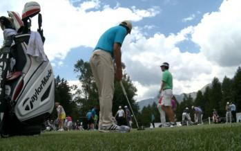 Golf pro am: Dany Boon et Sergio Garcia sur les greens à Crans-Montana