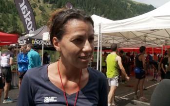 La course Sierre-Zinal d'Annelaure  Rosset avec caméra embarquée