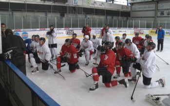 Hockey sur glace, la reprise!