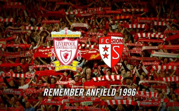FC Sion: Anfield, Remember 1996