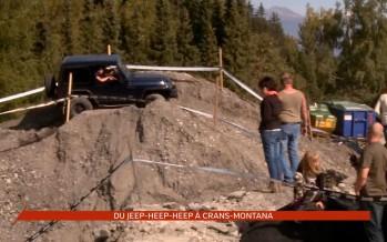 Jeep-Heep-Heep à Crans-Montana