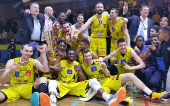 Basketball: le BBC Monthey gagne la Coupe de la Ligue et met fin à une période de dix ans sans trophée