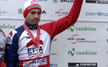 Cyclocross: Julien Taramarcaz perd son titre