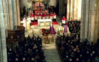 Hommage à Georgie Lamon et Jean-Noël Rey à la cathédrale de Sion