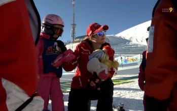 Métiers de la montagne: Pauline, monitrice de ski à Anzère