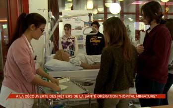 Hôpital miniature: les écoliers à la découverte des métiers de la santé