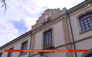 Les anciens arsenaux, pôle culturel, scientifique et patrimonial à Sion