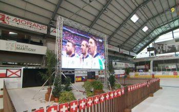 Football: L'Italie face à l'Espagne depuis la Fan Zone de Martigny