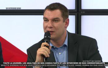 Pierre Berthod (PDC) élu nouveau président de la ville de Sierre