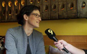 """Que souhaiter à la présidente de Martigny: """"Efficacité, courage et plaisir"""", dit Anne-Laure Couchepin Vouilloz"""