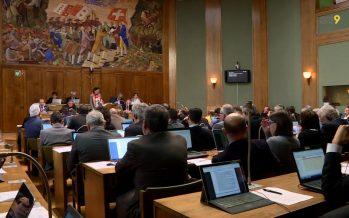 Zoom sur une semaine au Grand Conseil avec les chefs de groupe